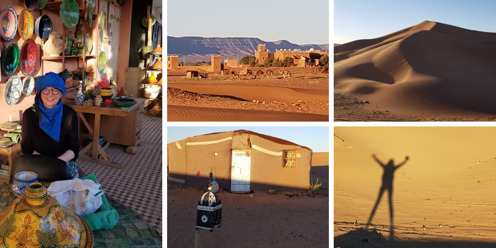 Odile's feedback after travelling in Tamegroute, Morroco