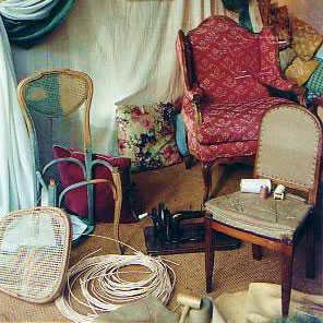 cannage de chaise uz s aliore. Black Bedroom Furniture Sets. Home Design Ideas