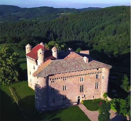 Futon Boutique Workcamp at the Castle of Maisonseule in Ardèche, South of France<br>