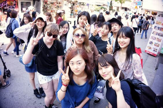 KPop camp in South Korea !     Aliore